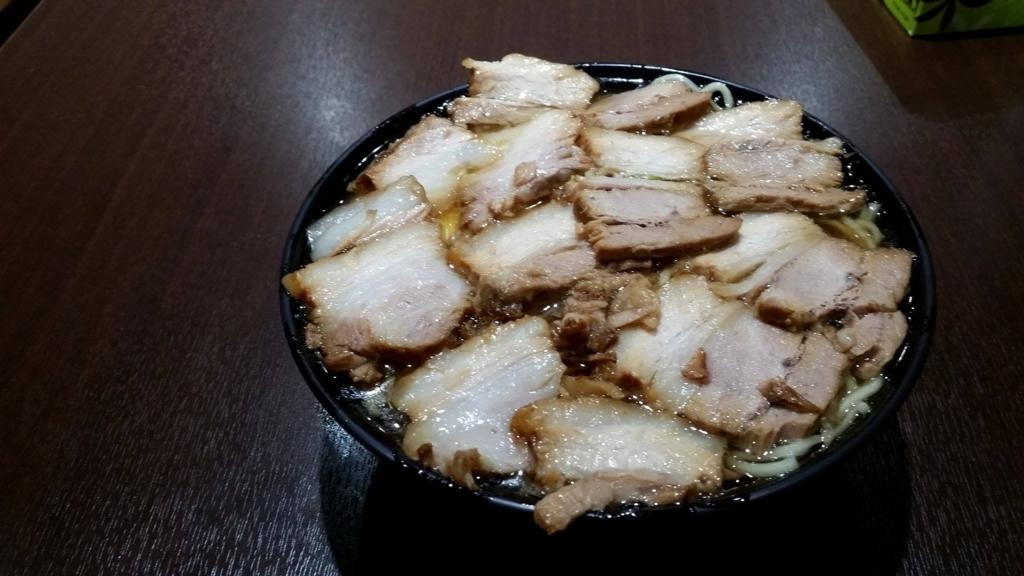 記事トップの、大塚『北大塚ラーメン』のチャーシュー麺の写真