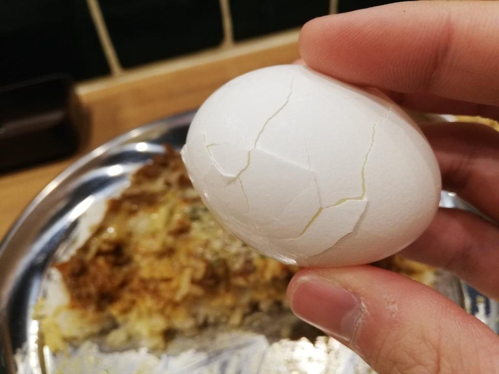高田馬場『プネウマカレー』のゆで卵