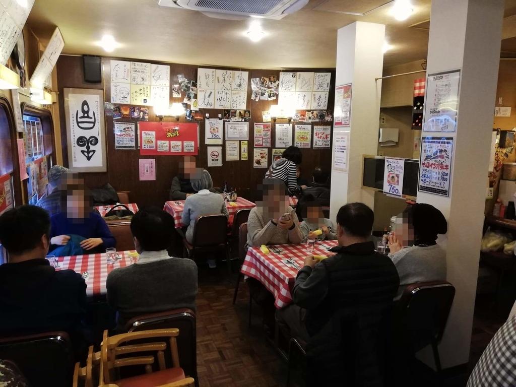 浅草『洋食屋ヨシカミ』の店内写真③