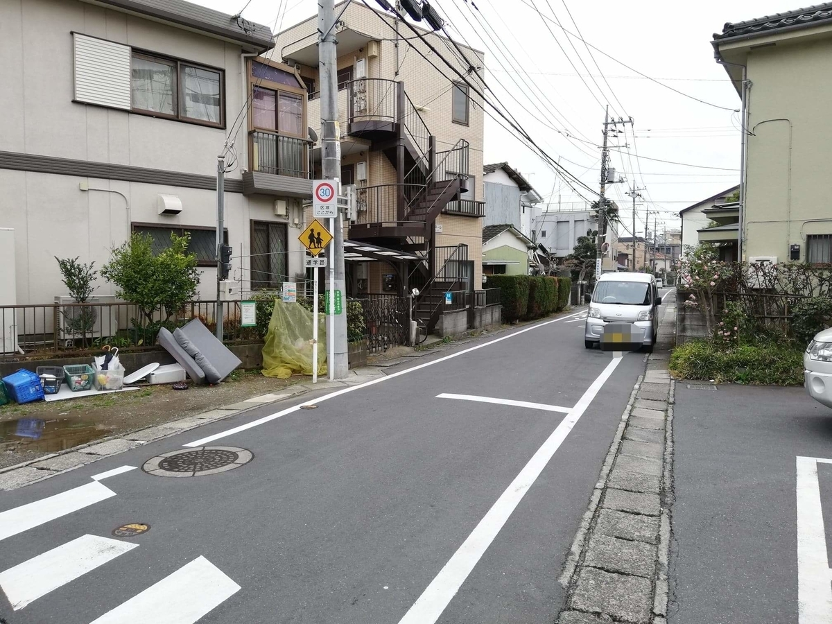 JR南武線稲田堤駅から『石づか』への行き方写真⑦