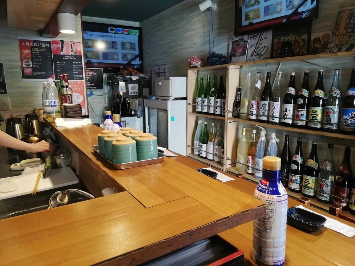 立川『モンロー』の店内写真