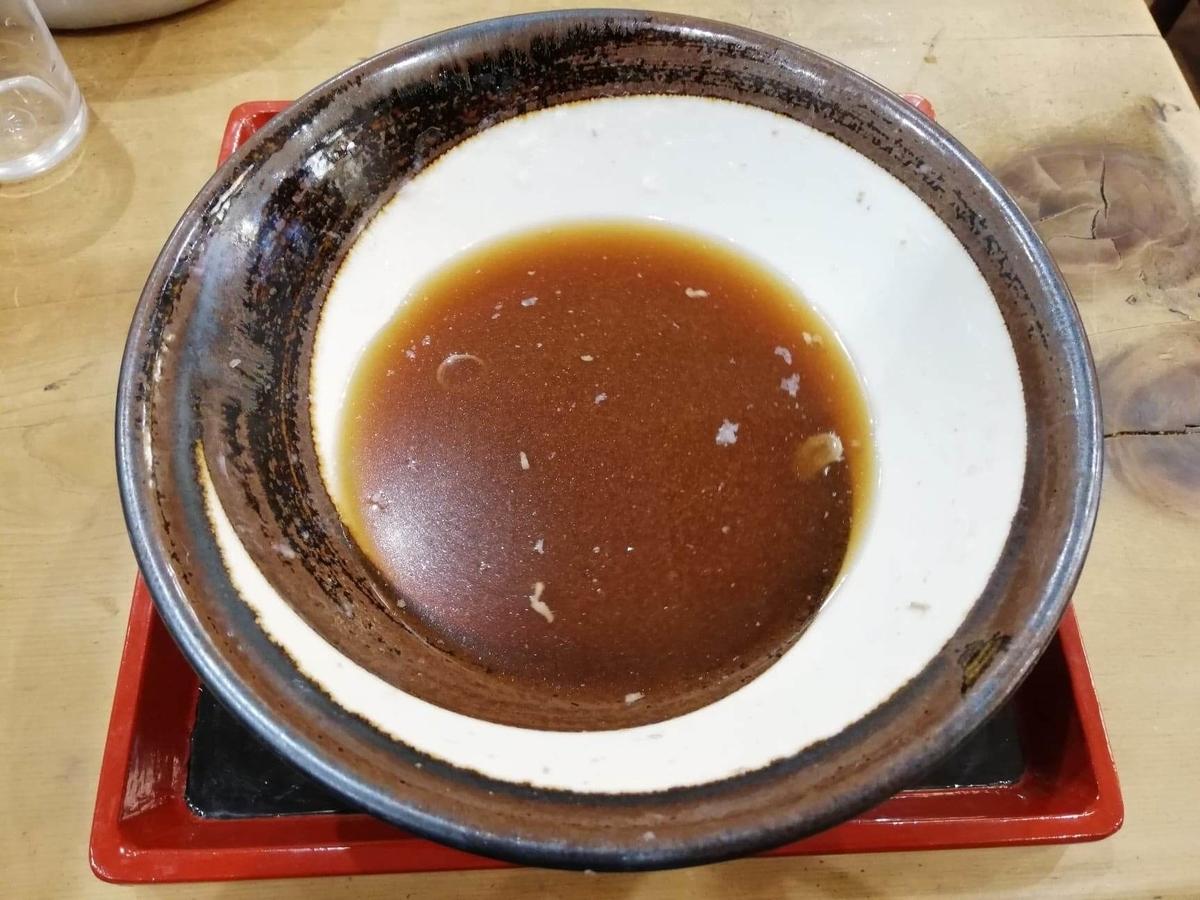 『浅草角萬』のスープの写真