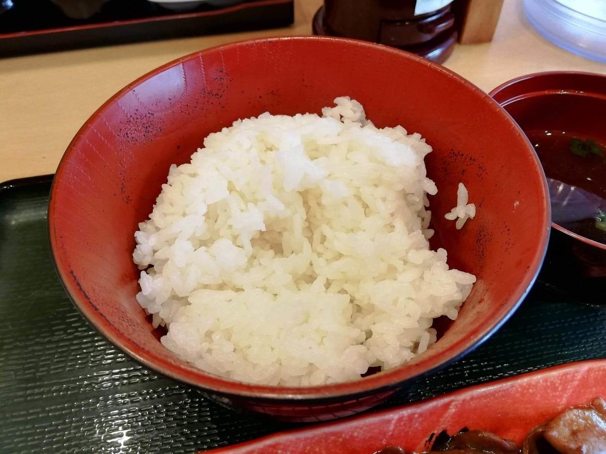 久米川『東京餃子食堂』のライスの写真