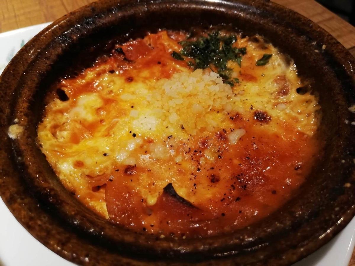 大宮『ドトール珈琲農園』の、3種チーズのあつあつたまごグラタンの写真
