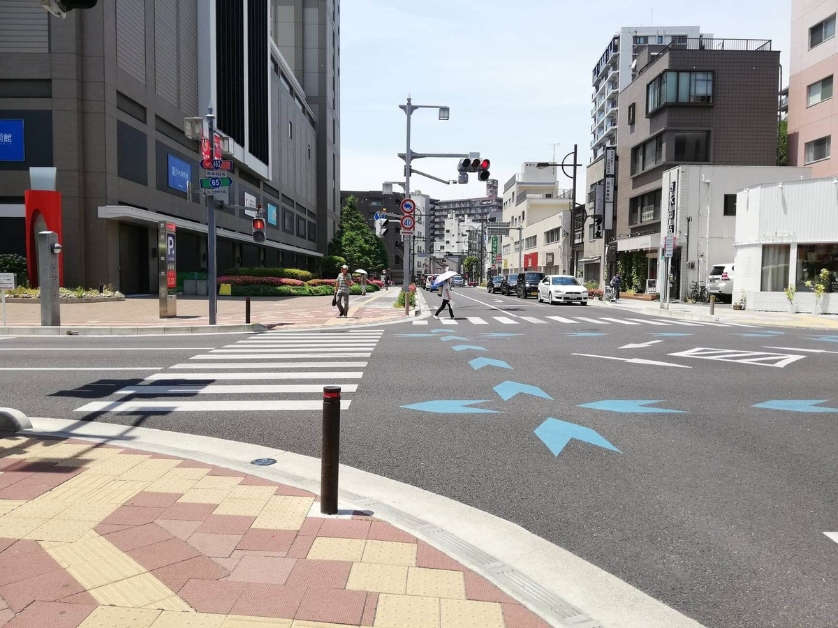 浦和駅から『分上野藪(わけうえのやぶ)かねこ』への行き方写真⑧