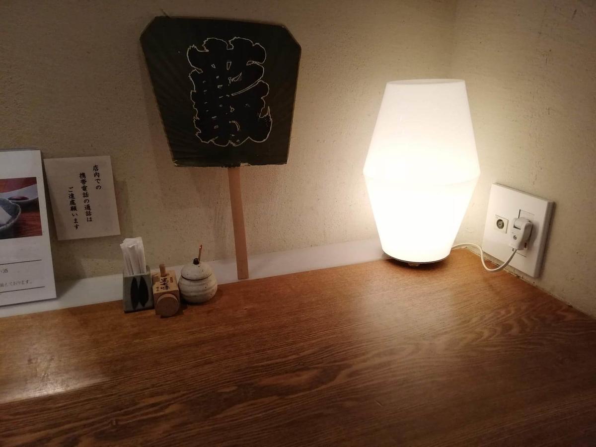 浦和『分上野藪(わけうえのやぶ)かねこ』のカウンター写真