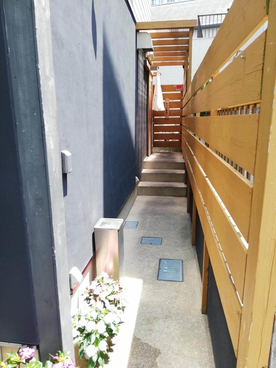 浦和『分上野藪(わけうえのやぶ)かねこ』の入り口写真