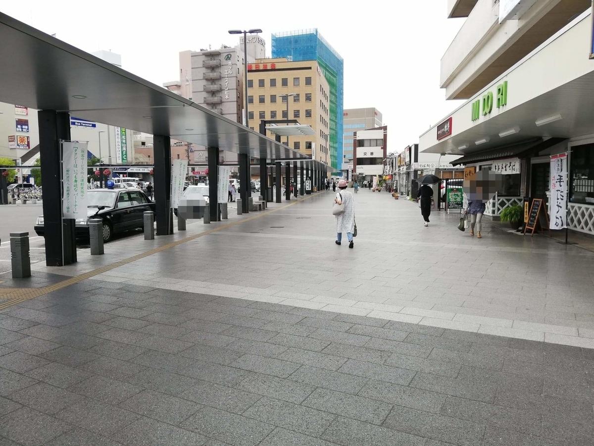 松本駅から『松本つなぐ横丁』への行き方写真②