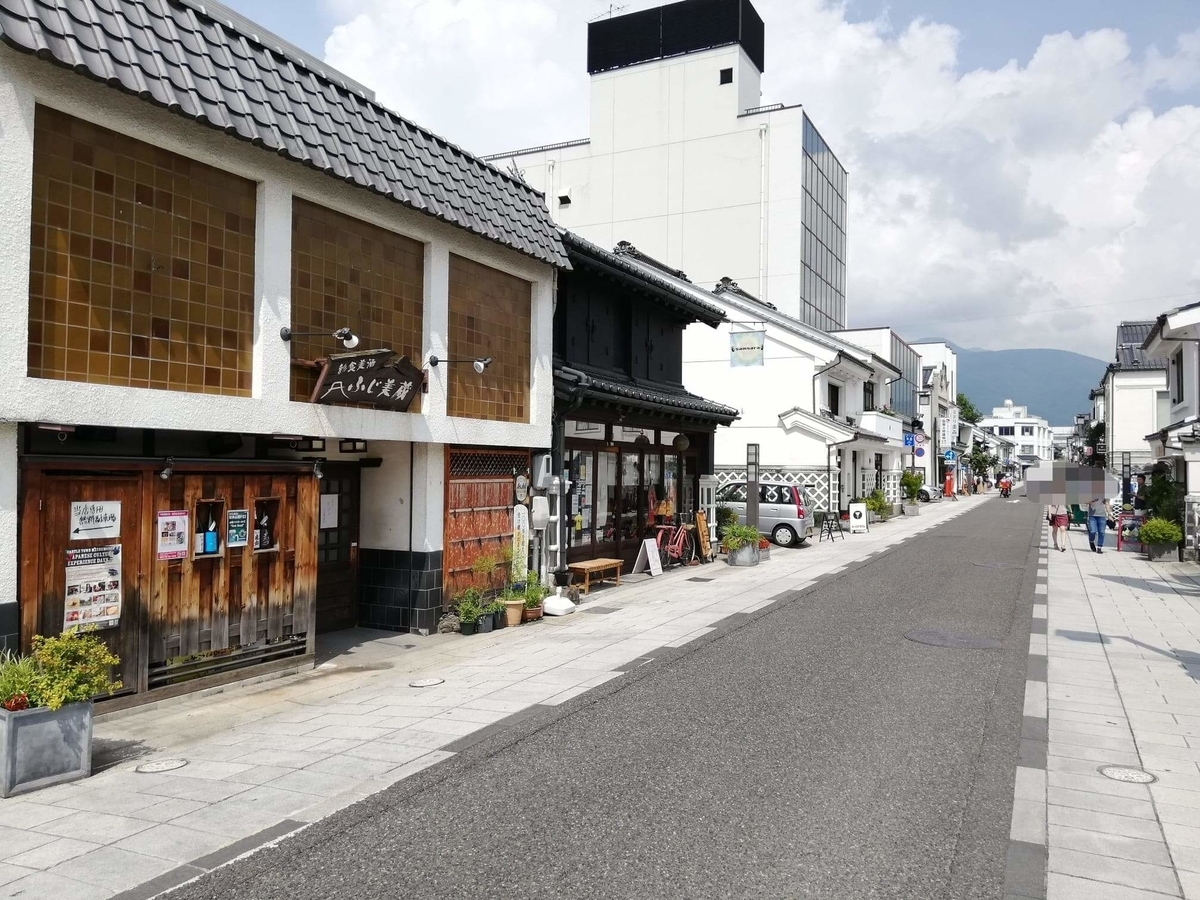 長野県松本市中町通りの景観写真③