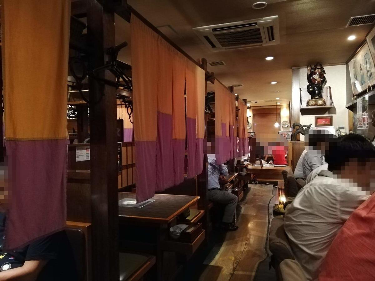 長野県松本市さくら料亭(馬肉料理)『新三よし』の店内写真⑥