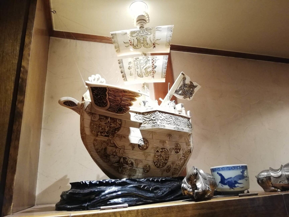 長野県松本市さくら料亭(馬肉料理)『新三よし』の店内写真⑦