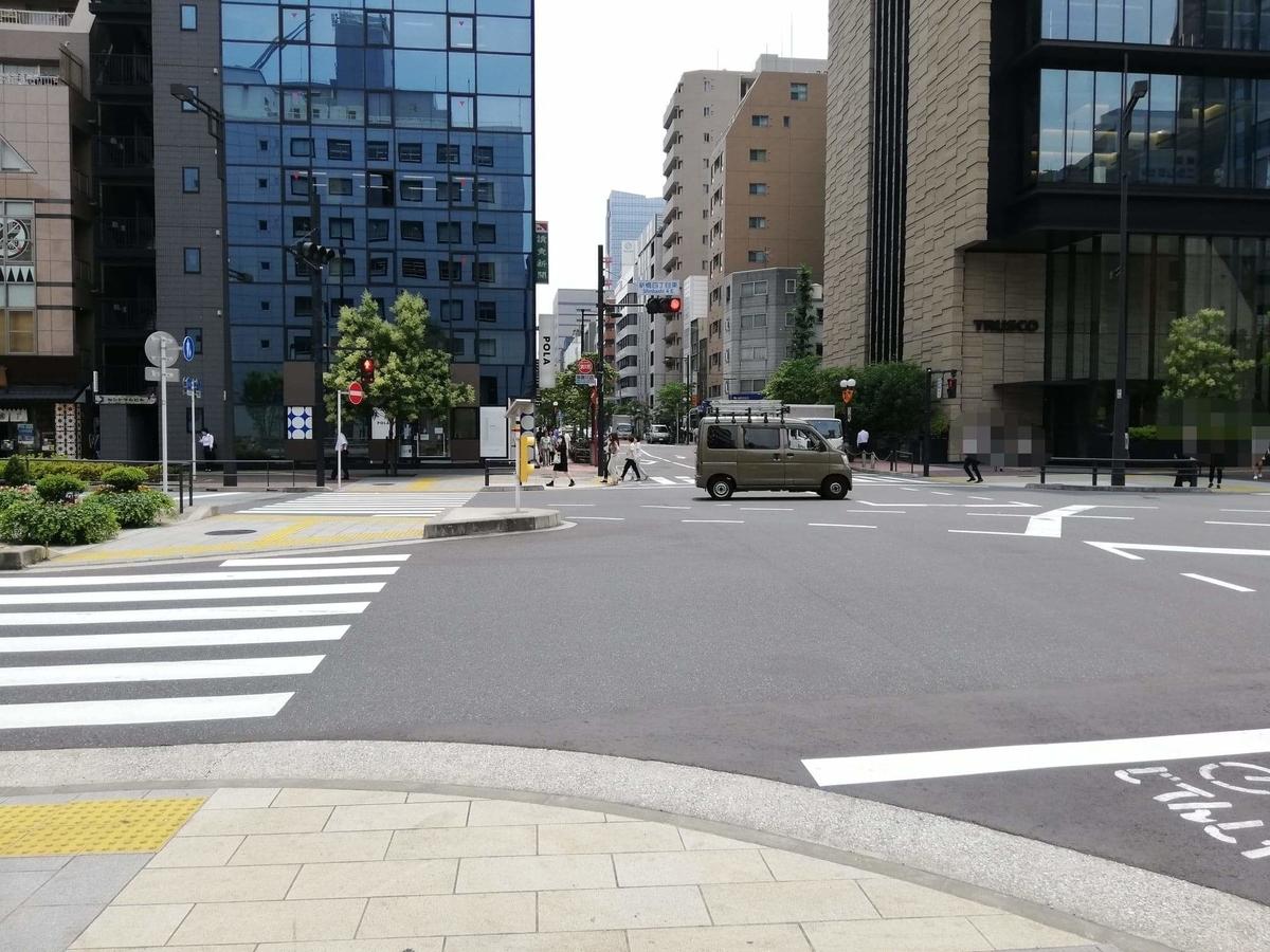 新橋駅から『洋食すいす』への行き方写真(8)