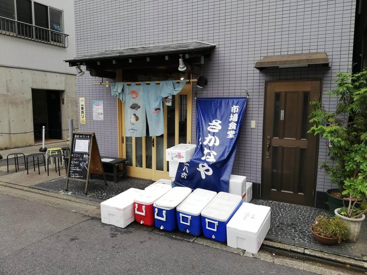 北千住駅から『市場食堂さかなや』への行き方写真(15)