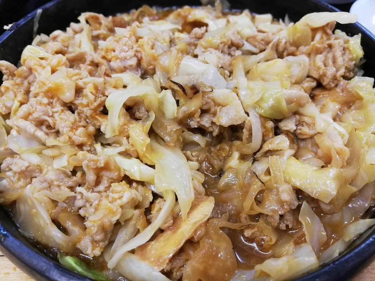 東中野『大盛軒』の鉄板麺の写真