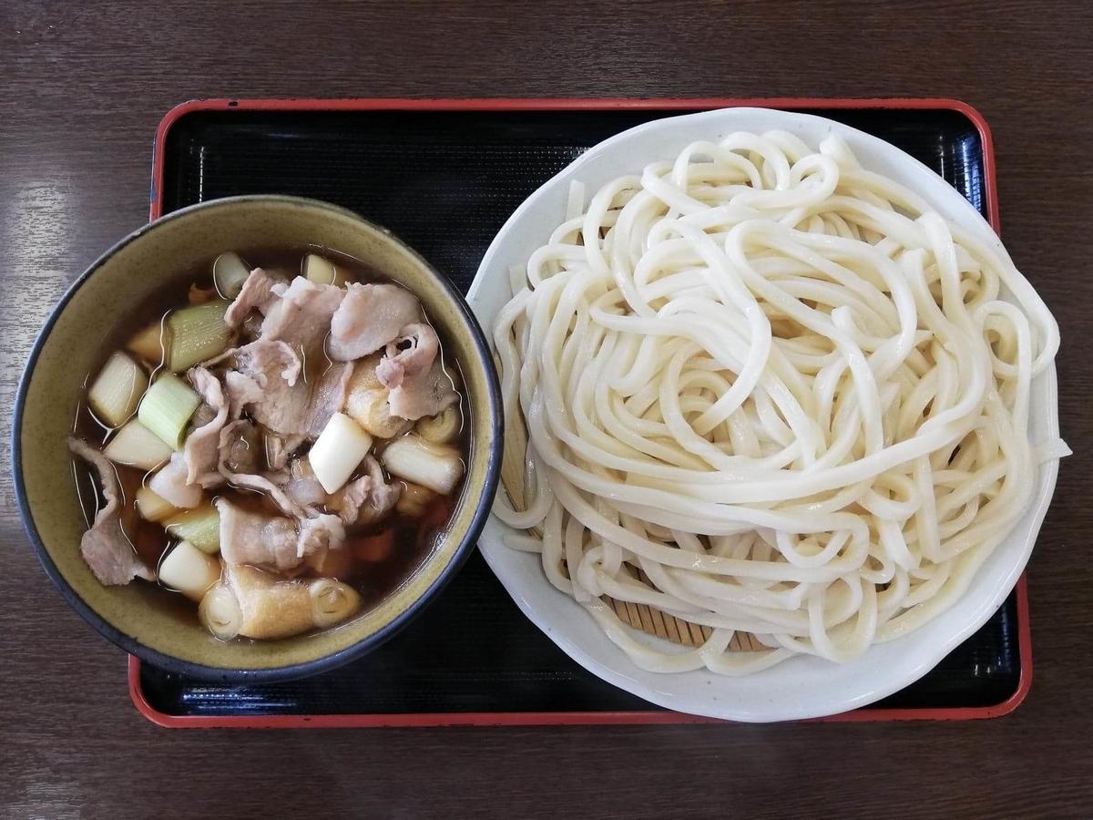 川越『藤店うどん』の肉汁うどんの写真