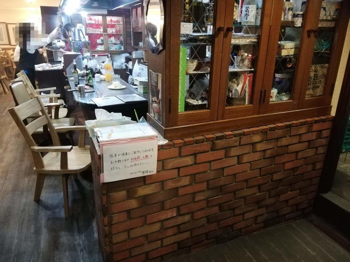 川越『ステーキハウス磐梯(バンダイ)』の店内写真