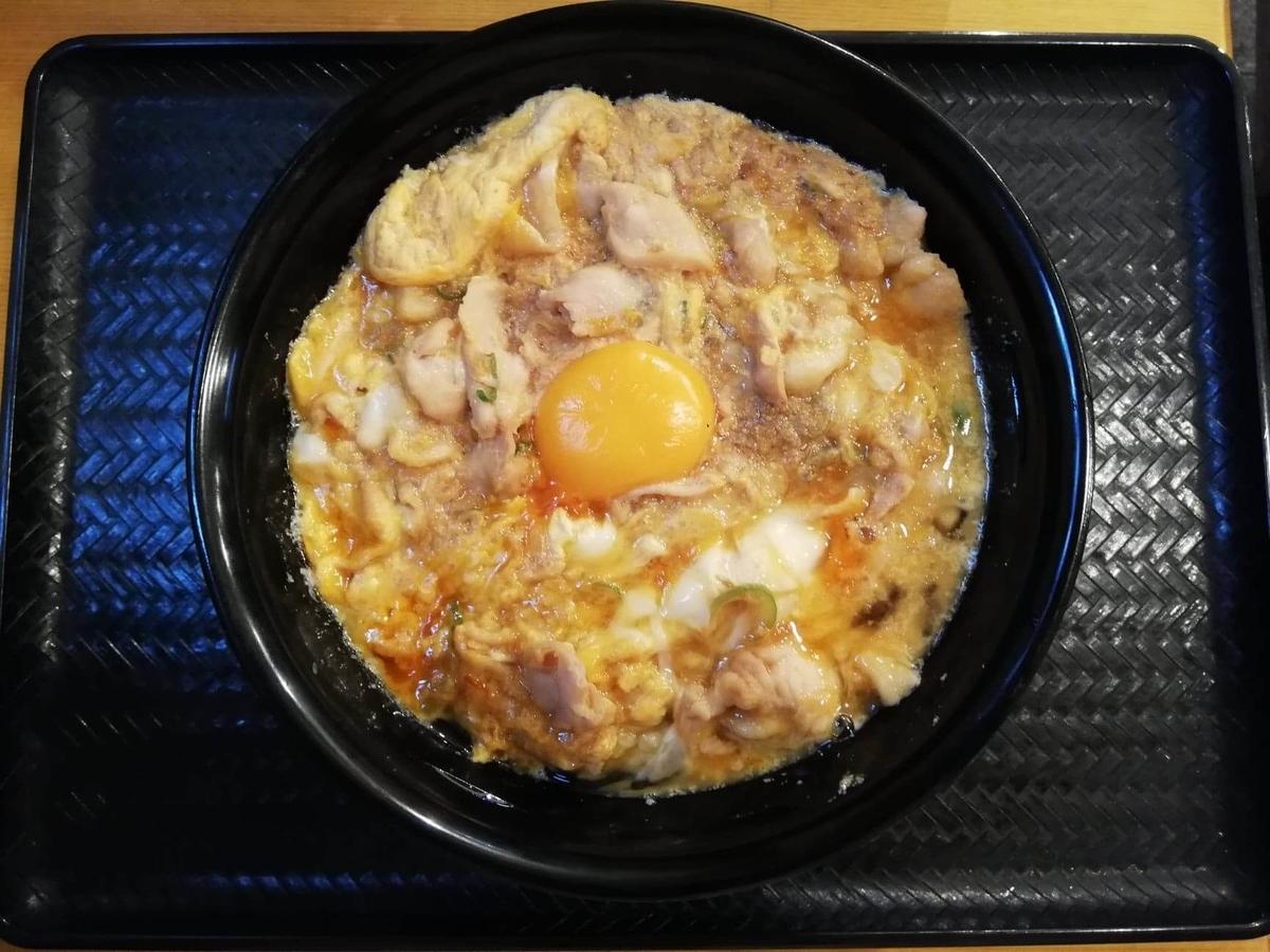 本川越『小江戸オハナ』の、親子丼の写真