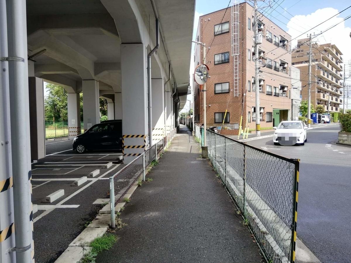 新座駅から『くるまやラーメン新座店』への行き方写真(8)