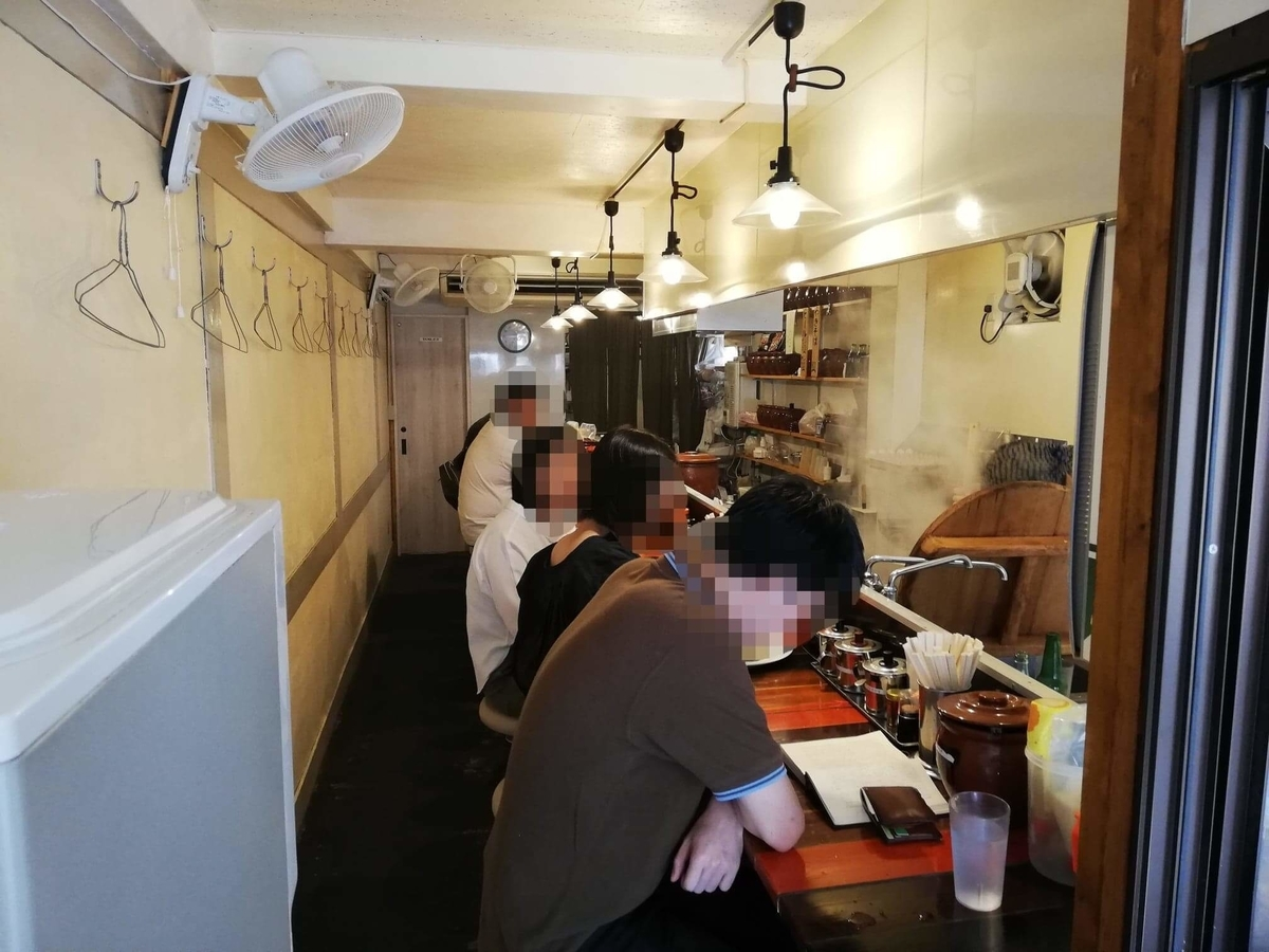 高田馬場『真打みかさ』の店内写真①