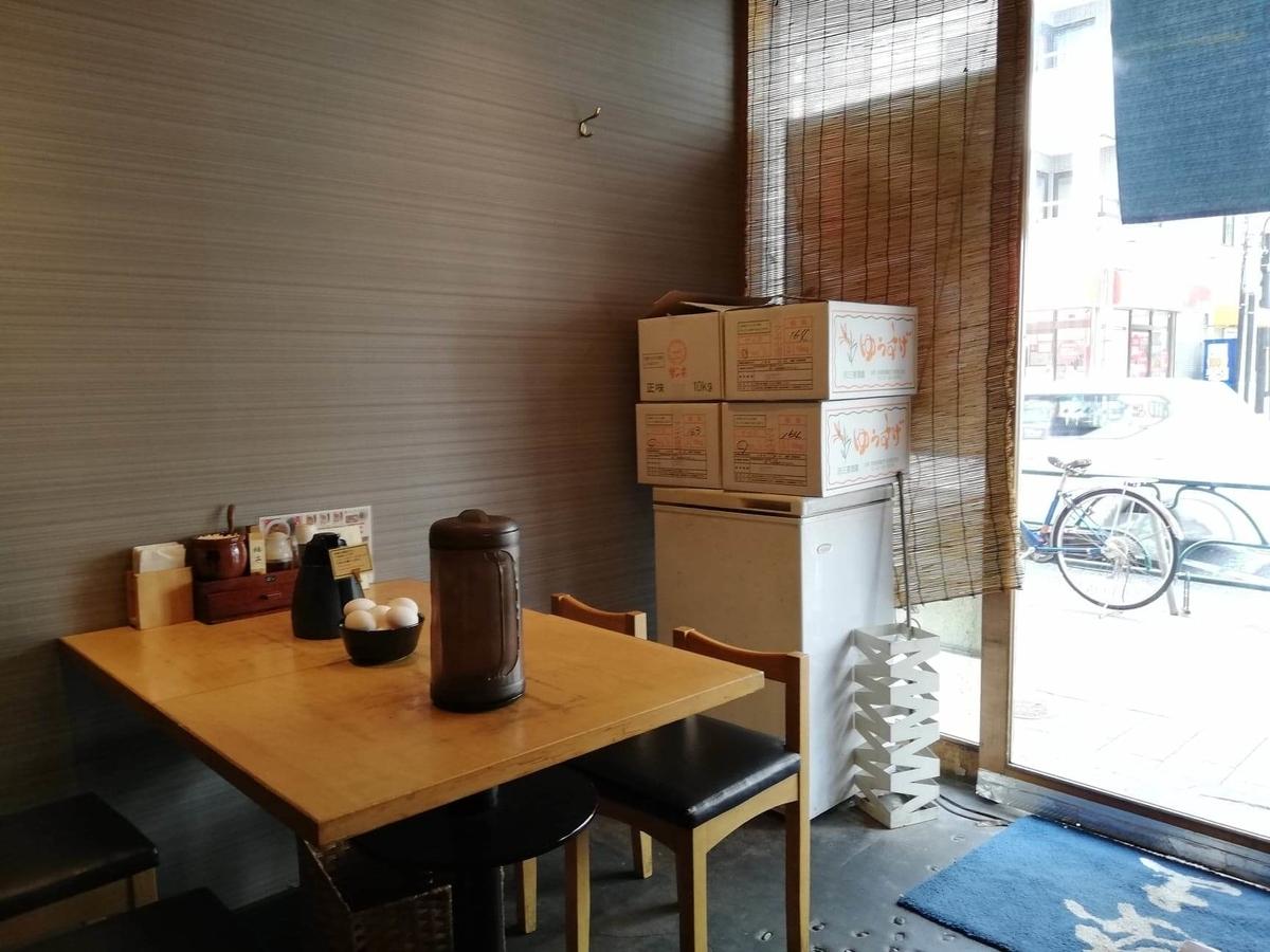 高田馬場『つけ蕎麦安土』の店内写真③