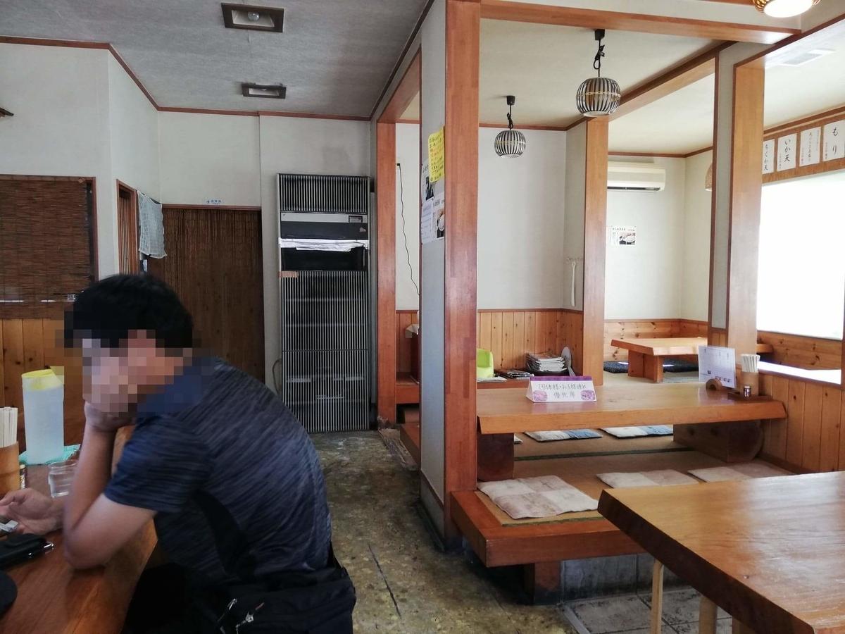 鶴ヶ島(川越)『田舎打ち麺蔵』の店内写真⑤