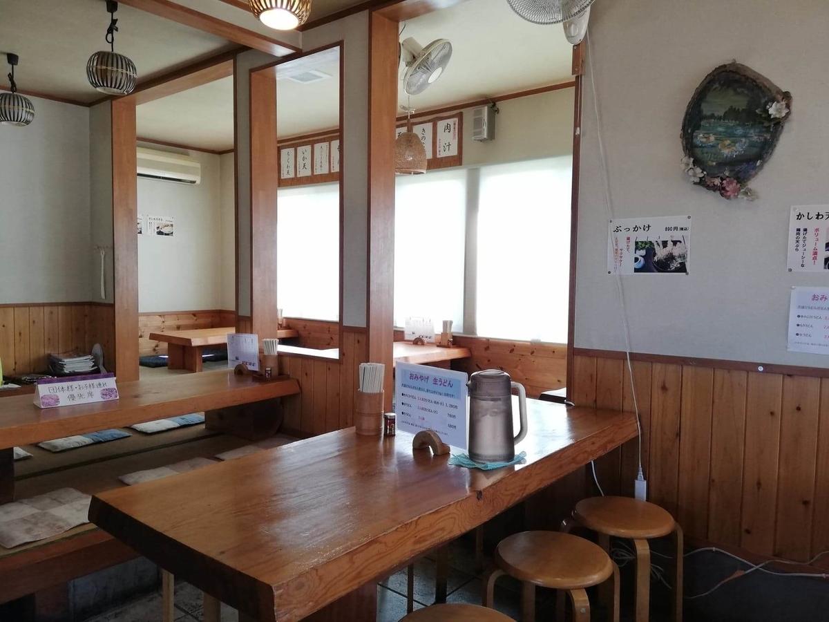 鶴ヶ島(川越)『田舎打ち麺蔵』の店内写真⑥