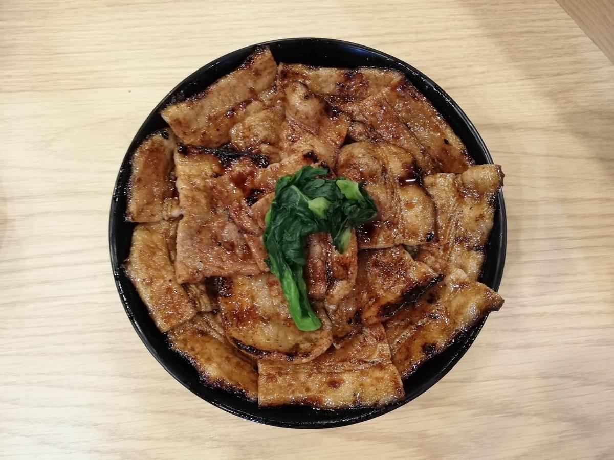 西武新宿『豚大学新宿校舎』の豚丼の写真