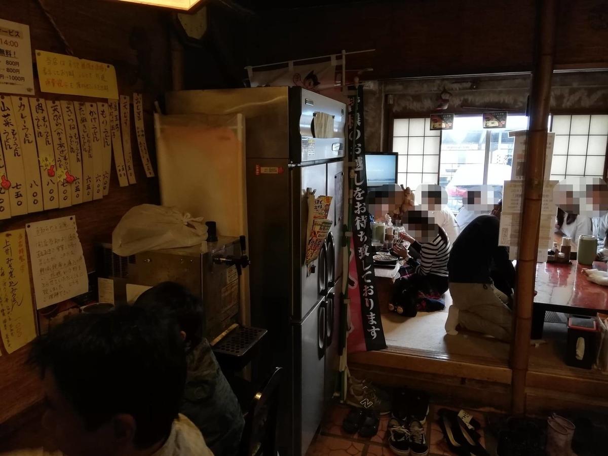 新座(保谷駅)『うどんや藤』の店内写真①