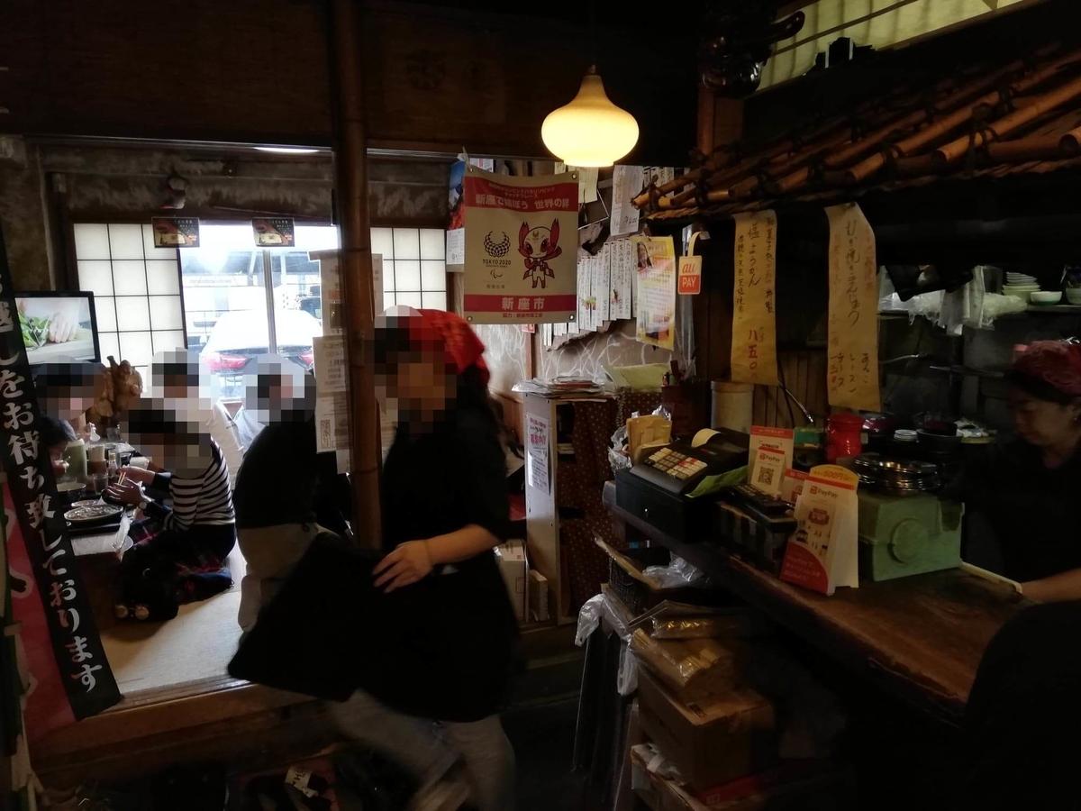 新座(保谷駅)『うどんや藤』の店内写真②