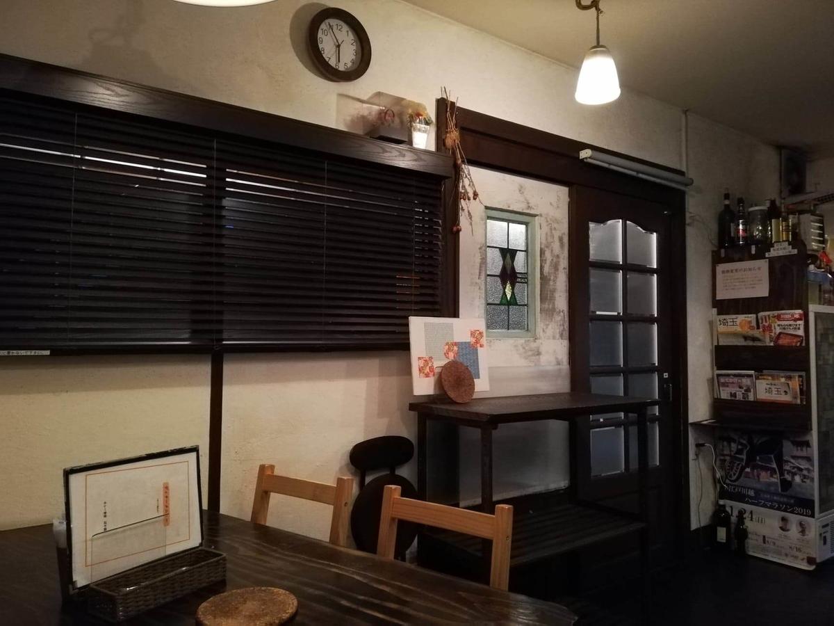 本川越『ぽか羅』の店内写真①