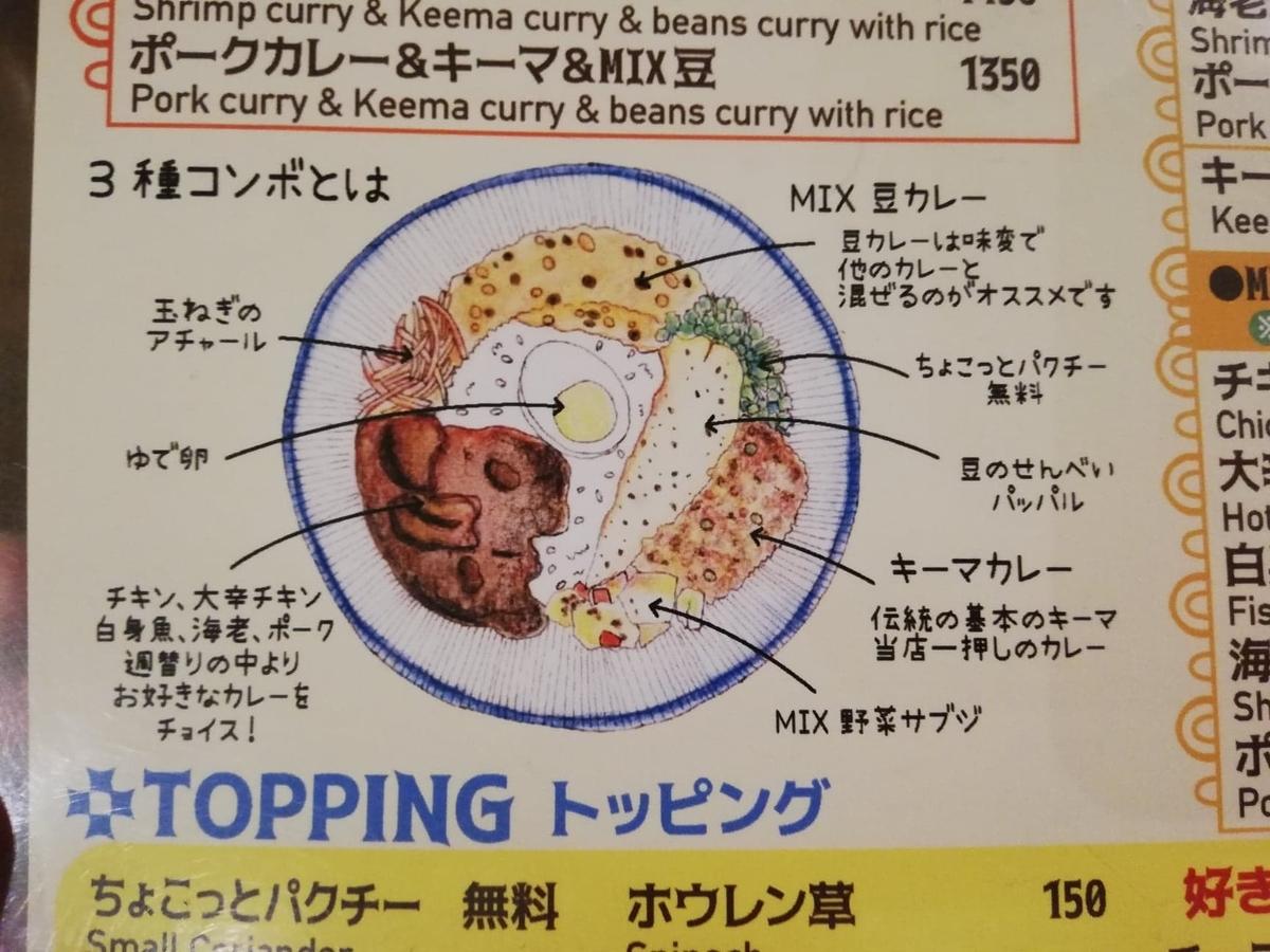 西武新宿『フィッシュ(FISH)』のメニュー表写真