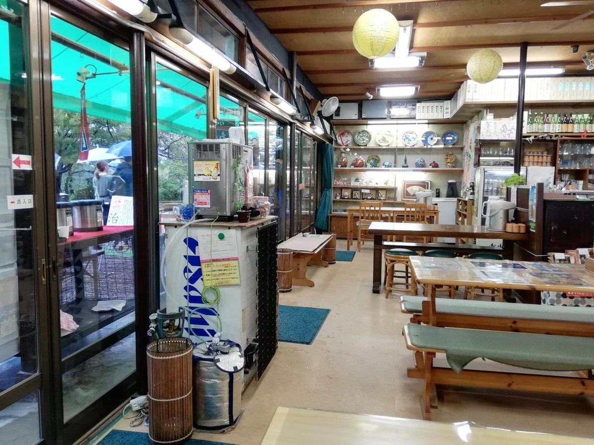 石川県金沢市兼六園近く『城山亭』の店内写真①