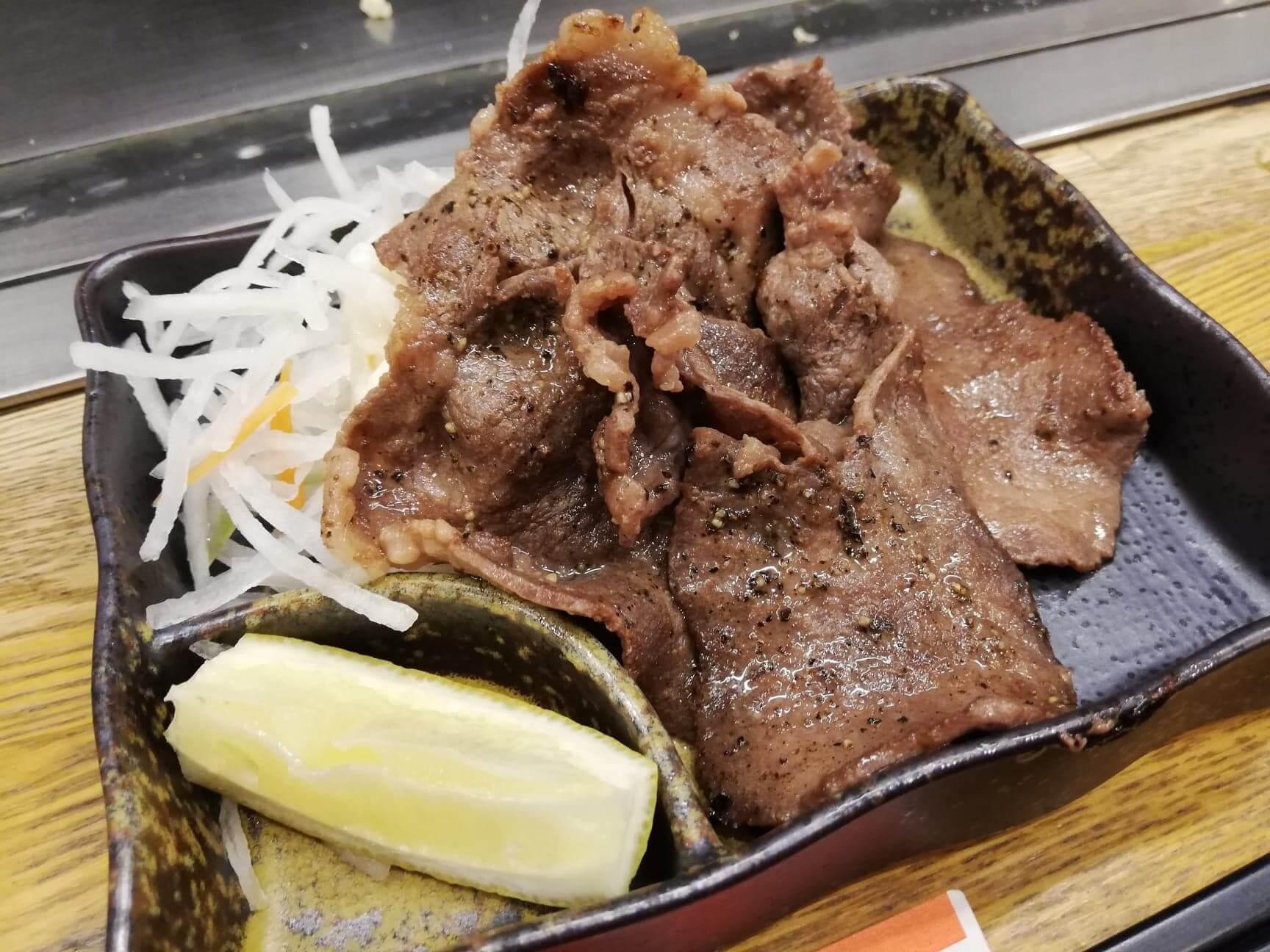 広島『本家村長の店』のタン塩の写真