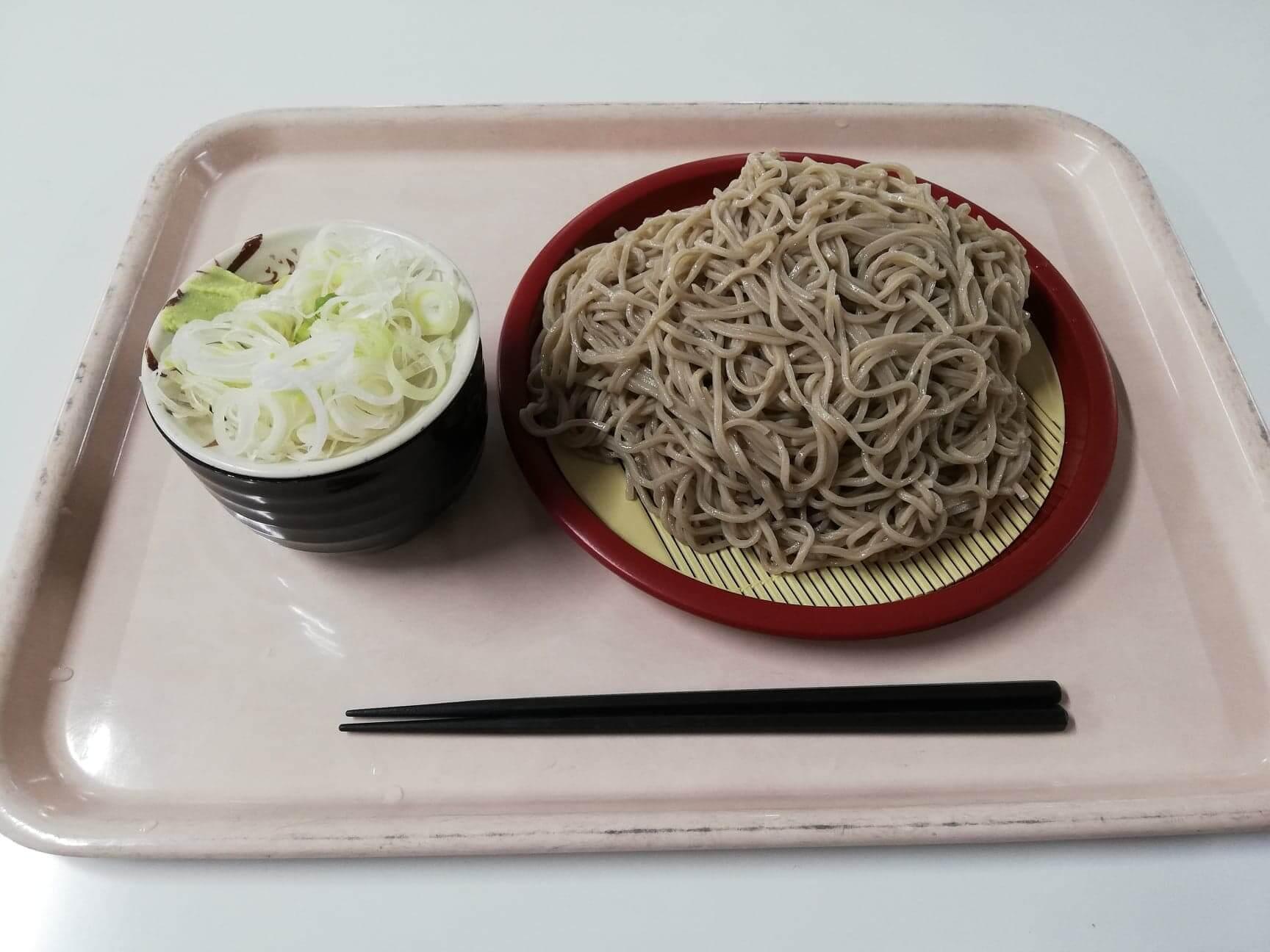 練馬区役所の職員レストランの『富士山もりそば』の写真