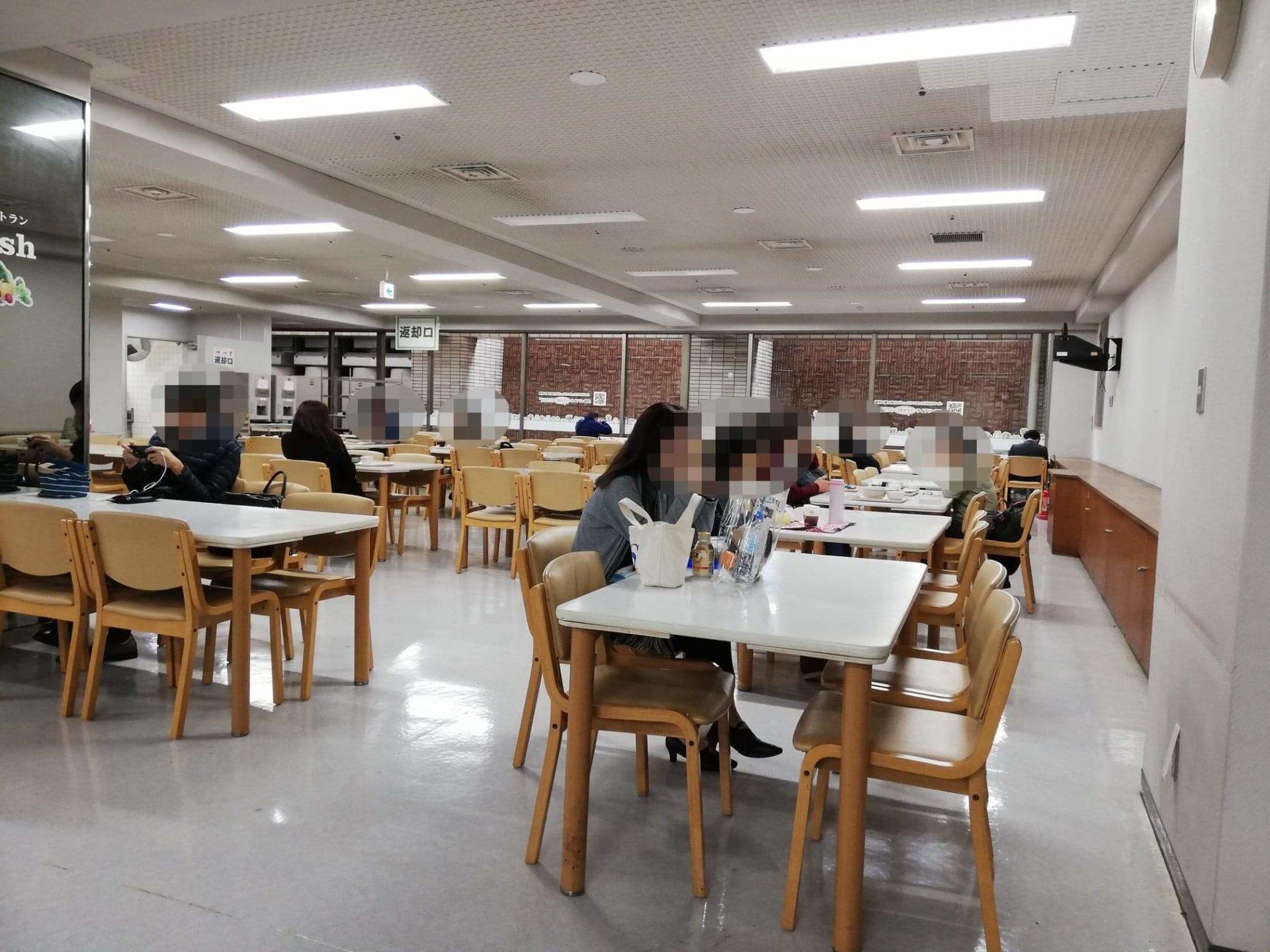 練馬区役所の職員レストランの写真②