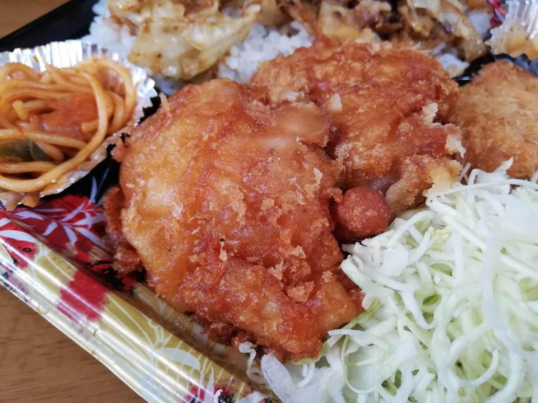 かつやの全力飯弁当『回鍋肉丼から揚げチキンカツ弁当』の写真